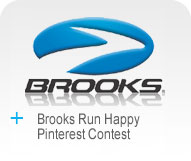Brooks Run Happy Pinterest Contest Logo