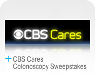 CBS Cares Colonoscopy Sweepstakes  Logo