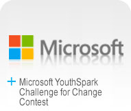 Microsoft YouthSpark Challenge for Change Contest Logo