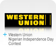 Western Union Nigerian Independence Day Contest Logo